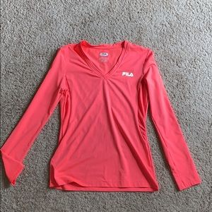 Breathable athletic long sleeve